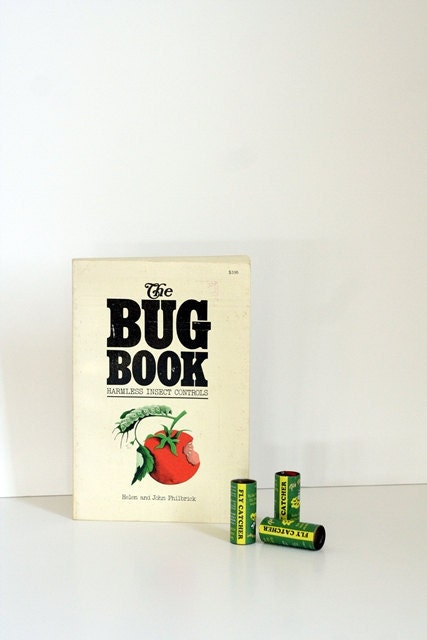 The Bug Book - Harmless Insect Indentification and Control Reference for the Organic Gardener - msjeannieology