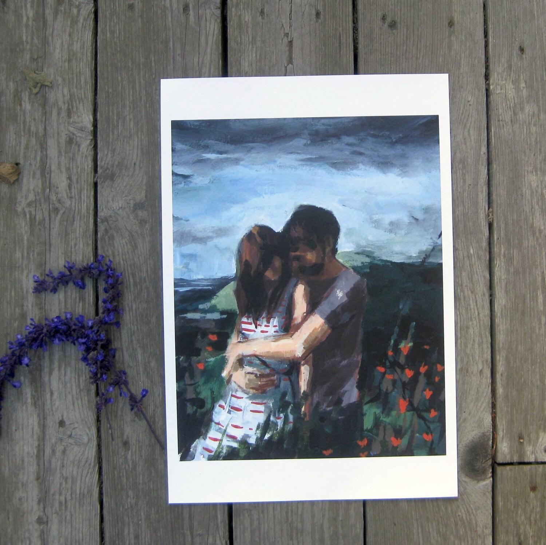 Honeymoon,13 x 19  print