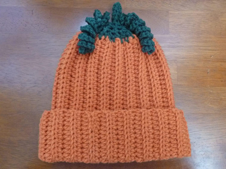 Pumpkin Baby Hat Size 6 to 12 Months