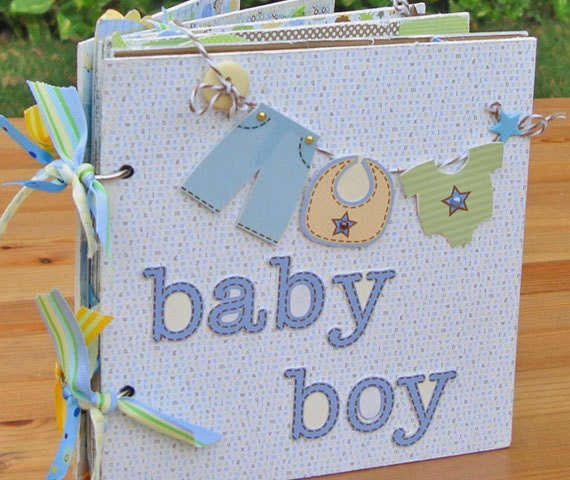 Scrapbooking baby album ideas submited images