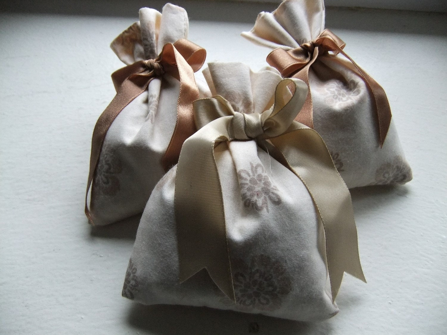 Moth Away - CEDAR and Lavender Sachets - Set of 3
