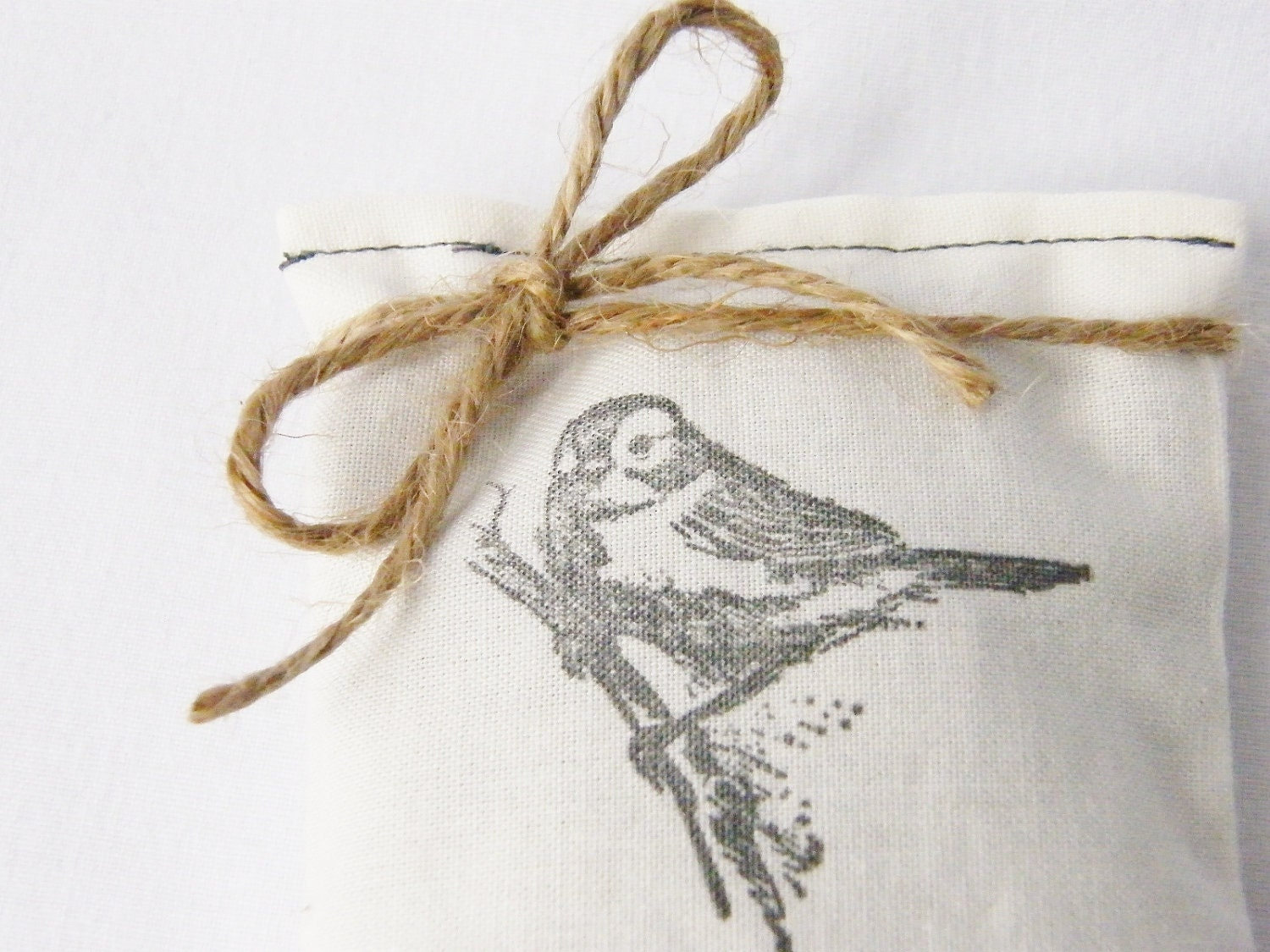 Balsam Sachet, Bird on a Branch, Minimalist