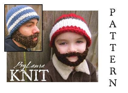 Beard Beanie Pattern Knit Free Free Archery Beanie Pattern