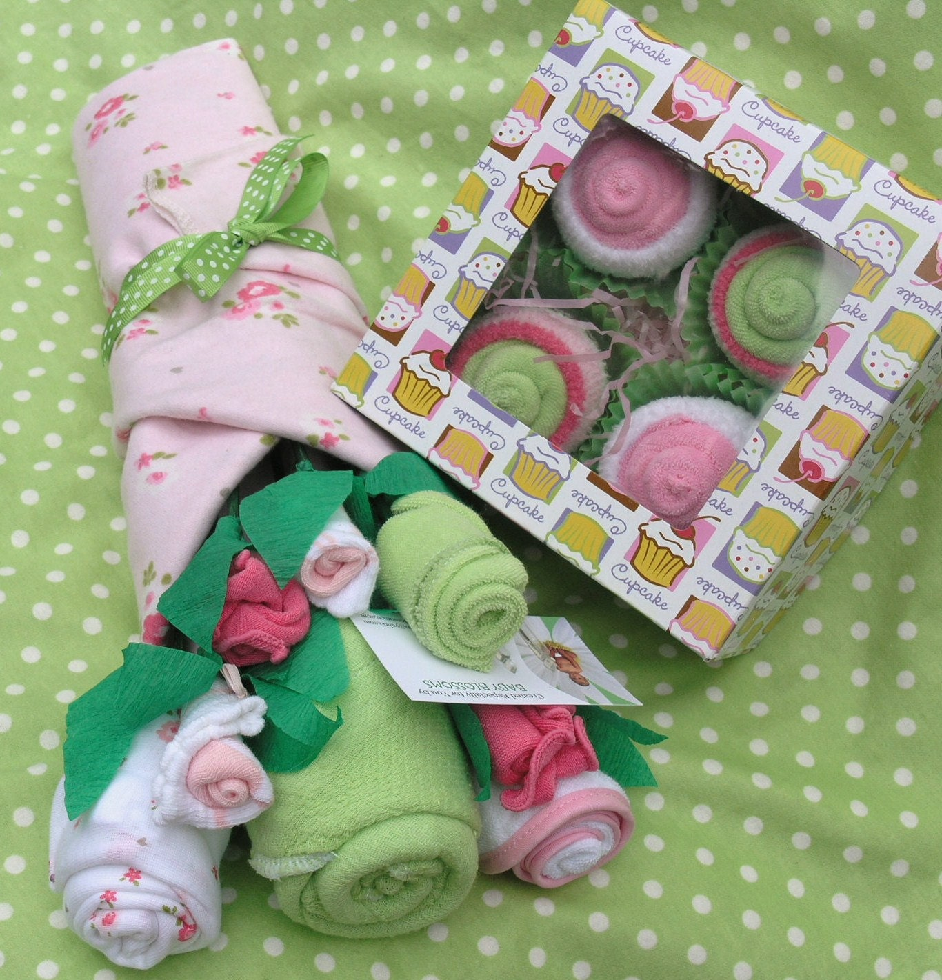 Unique Baby Shower Gift Baby Girl Clothing by babyblossomco