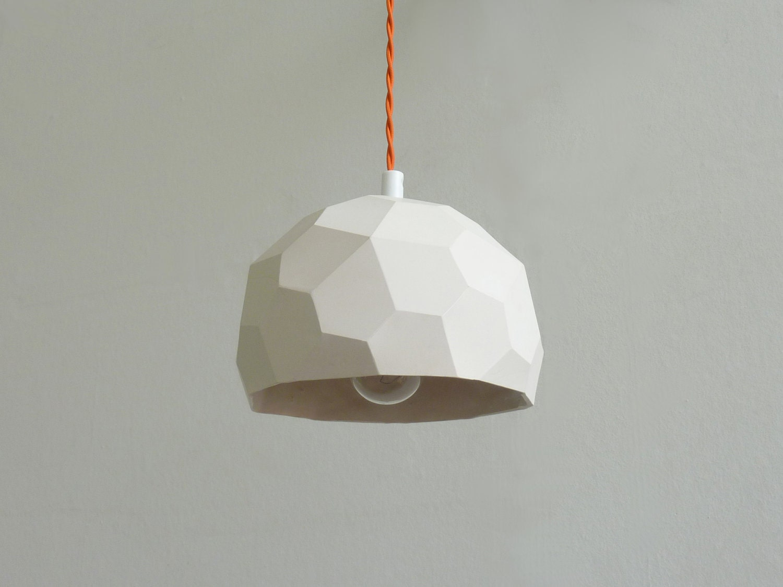 Polyhedra Globe Pendant Light