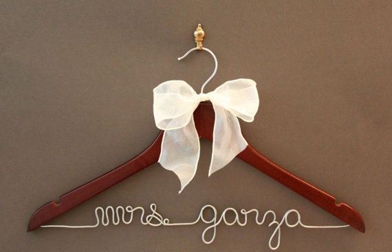 Bridesmaid Gift. Bridesmaid Gift Sets. Personalized Hanger.