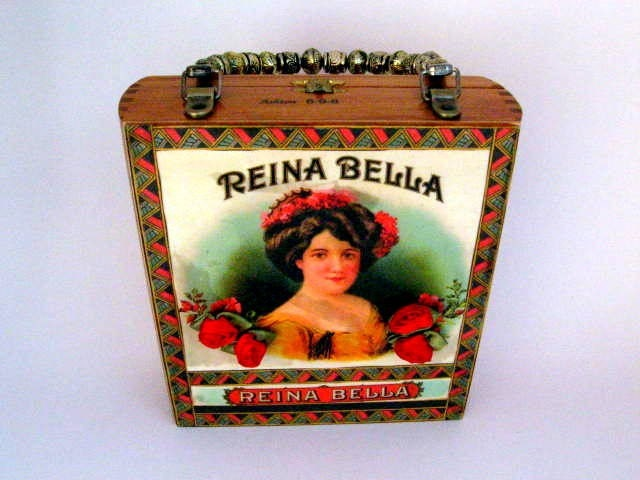 Reina Bella Cigar Box Purse
