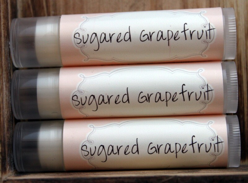 Sugared Grapefruit- Lip Balm