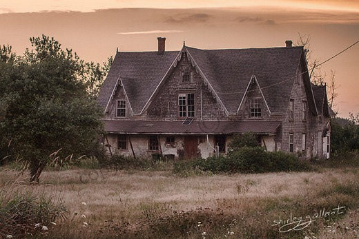 Scary Mansion 8x10 Print - SonnysPics