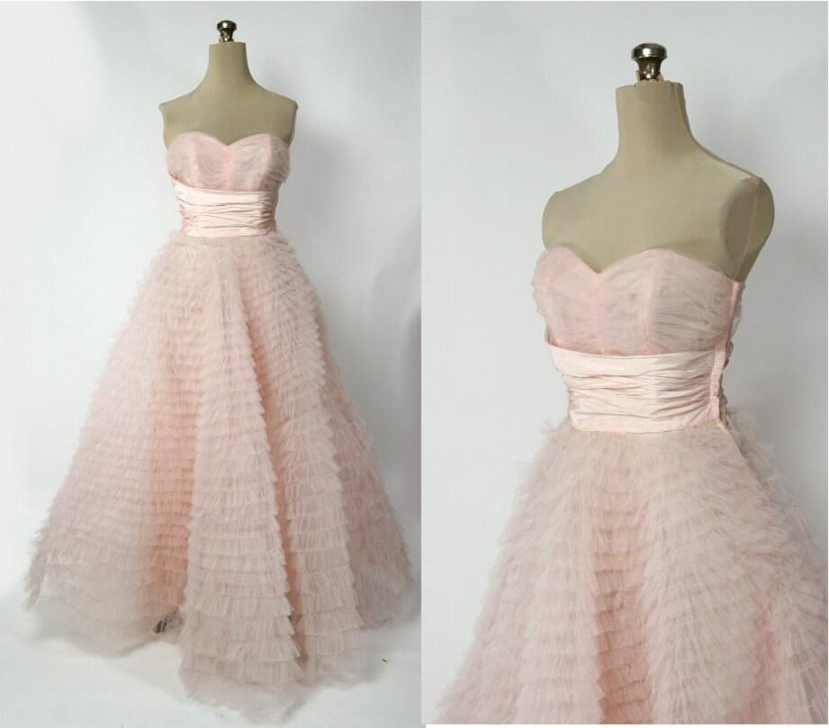 Delisha 39 s blog alvina valenta bridal trunk show wedding for Pink vintage wedding dress