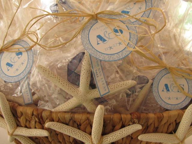 Beach Wedding Starfish Wedding Favors