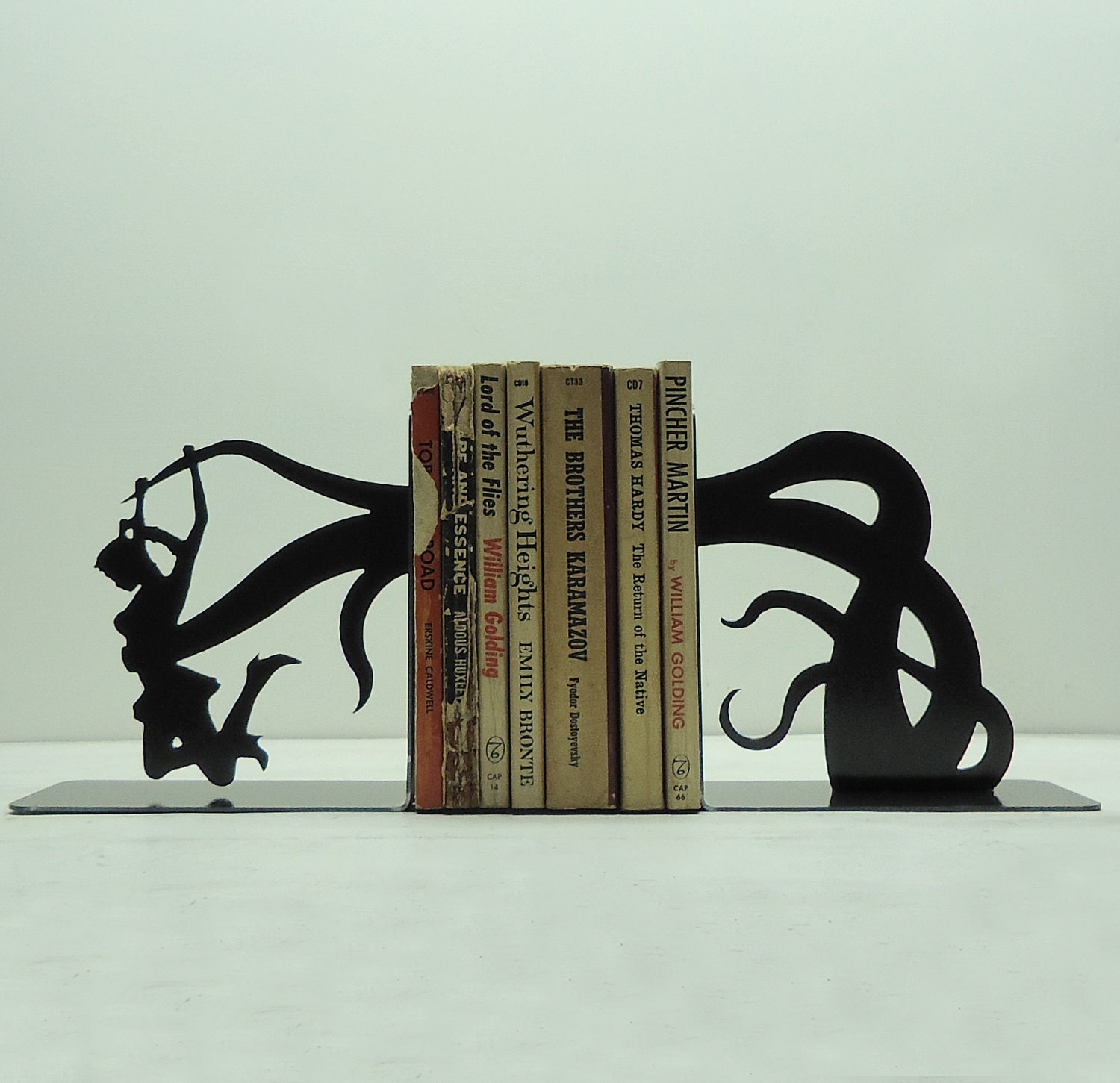 Tentacle Attack Bookends - Free USA Shipping