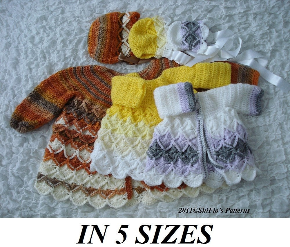 Crochet For Baby : CROCHET PATTERN BABY JACKET Crochet For Beginners