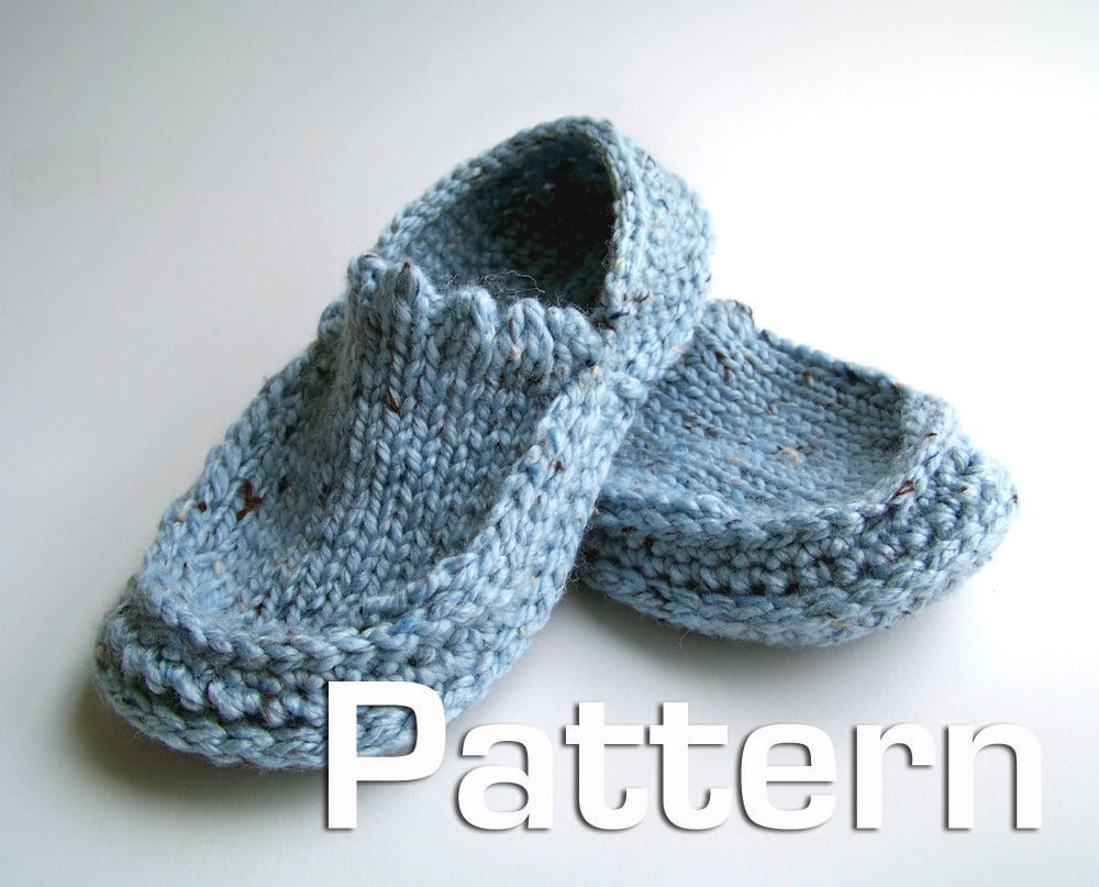 Simple Crochet Slippers – A Free Pattern