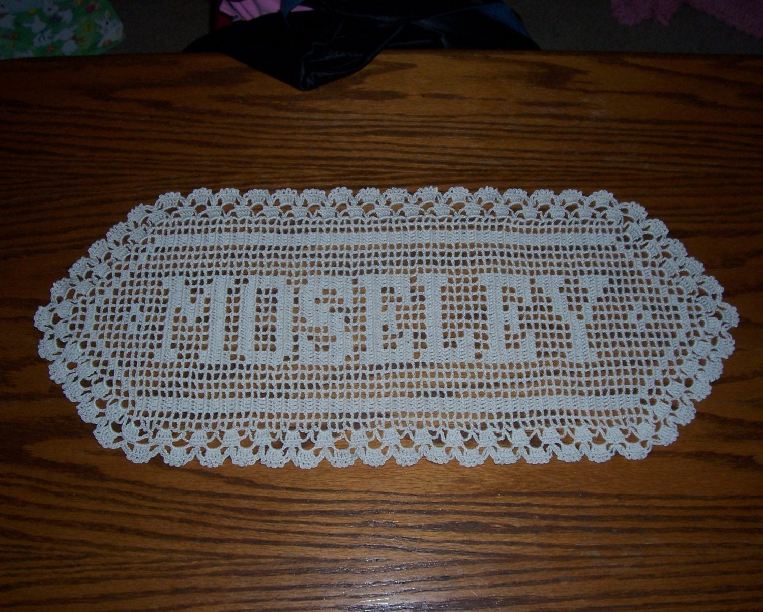 Crochet Patterns Names : FILET CROCHET NAMES Crochet For Beginners