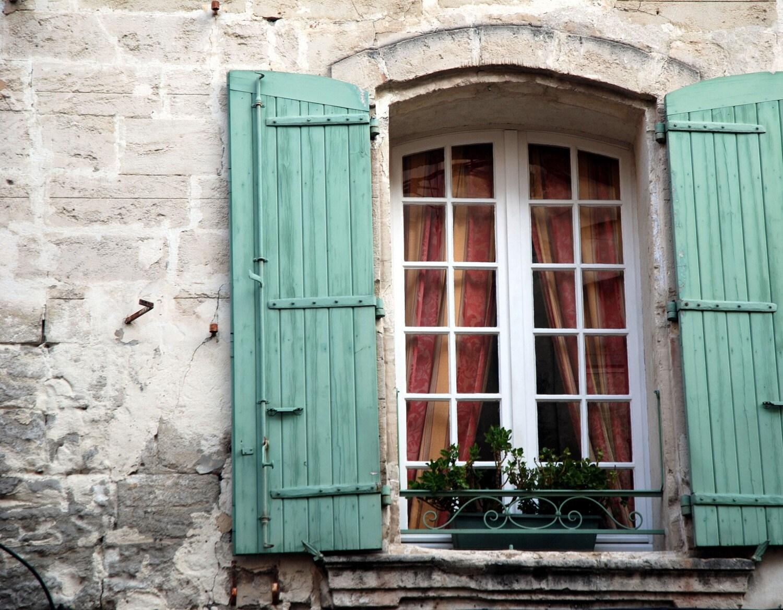 "All Shut Up,  France 12""x18"" Fine Art Print - reflectionsoflight"