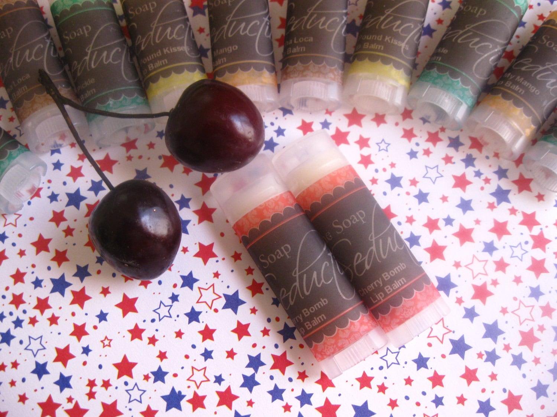 Cherry Bomb Moisturizing Lip Balm-New Formula, Now All Vegan
