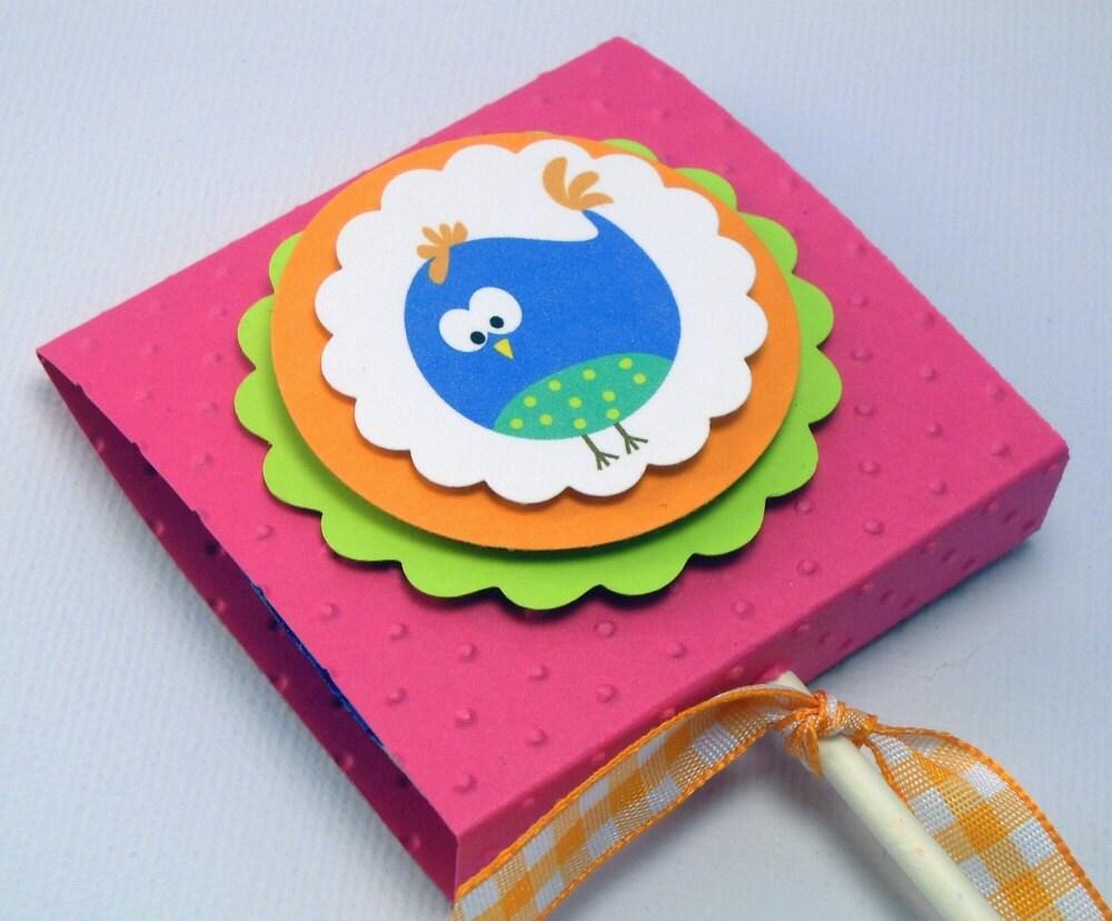 Festa Pássaro Pops - favores pirulito - Conjunto de 10