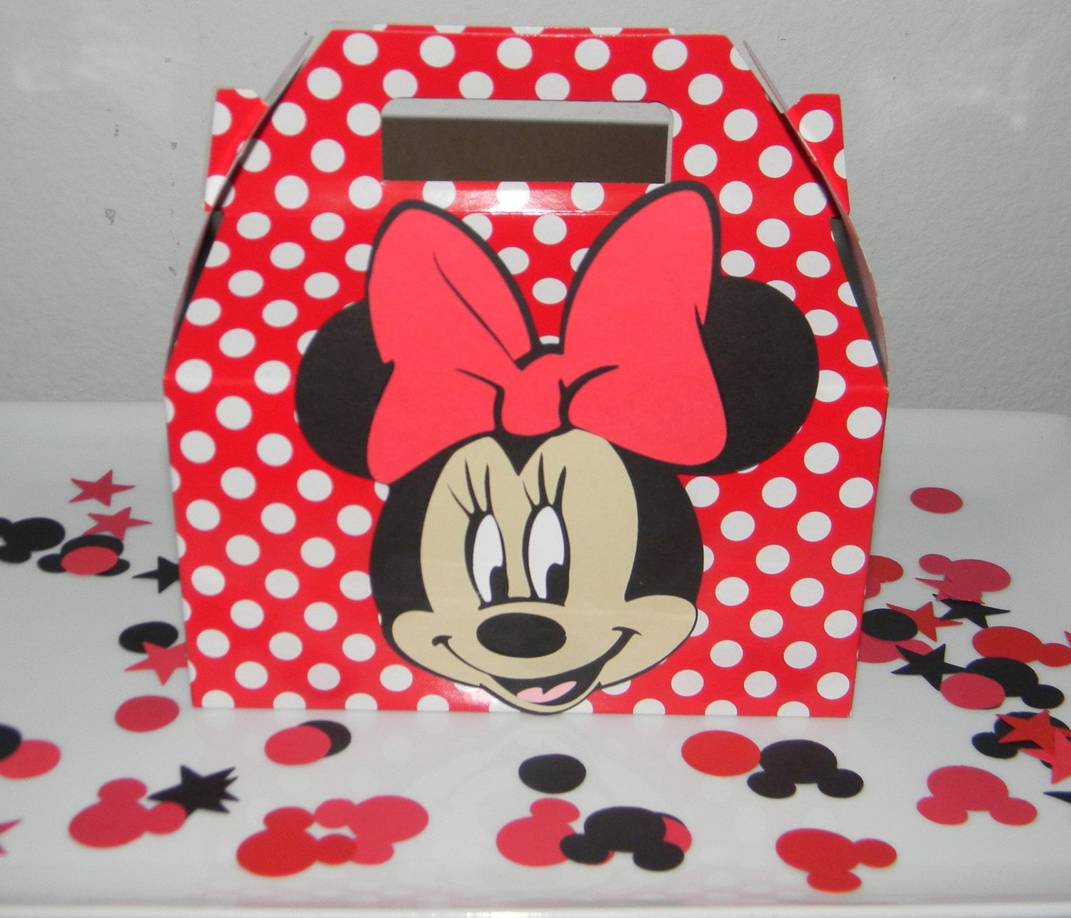 Red Minnie Mouse Party Supplies