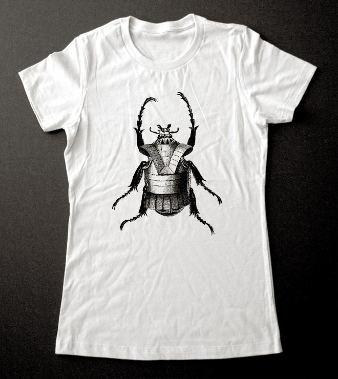 Armored Beetle 1 T-Shirt - Printed on Super Soft Cotton Jersey T-Shirts for Women and Men/Unisex