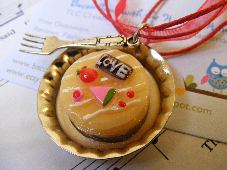 Necklace Dessert Love