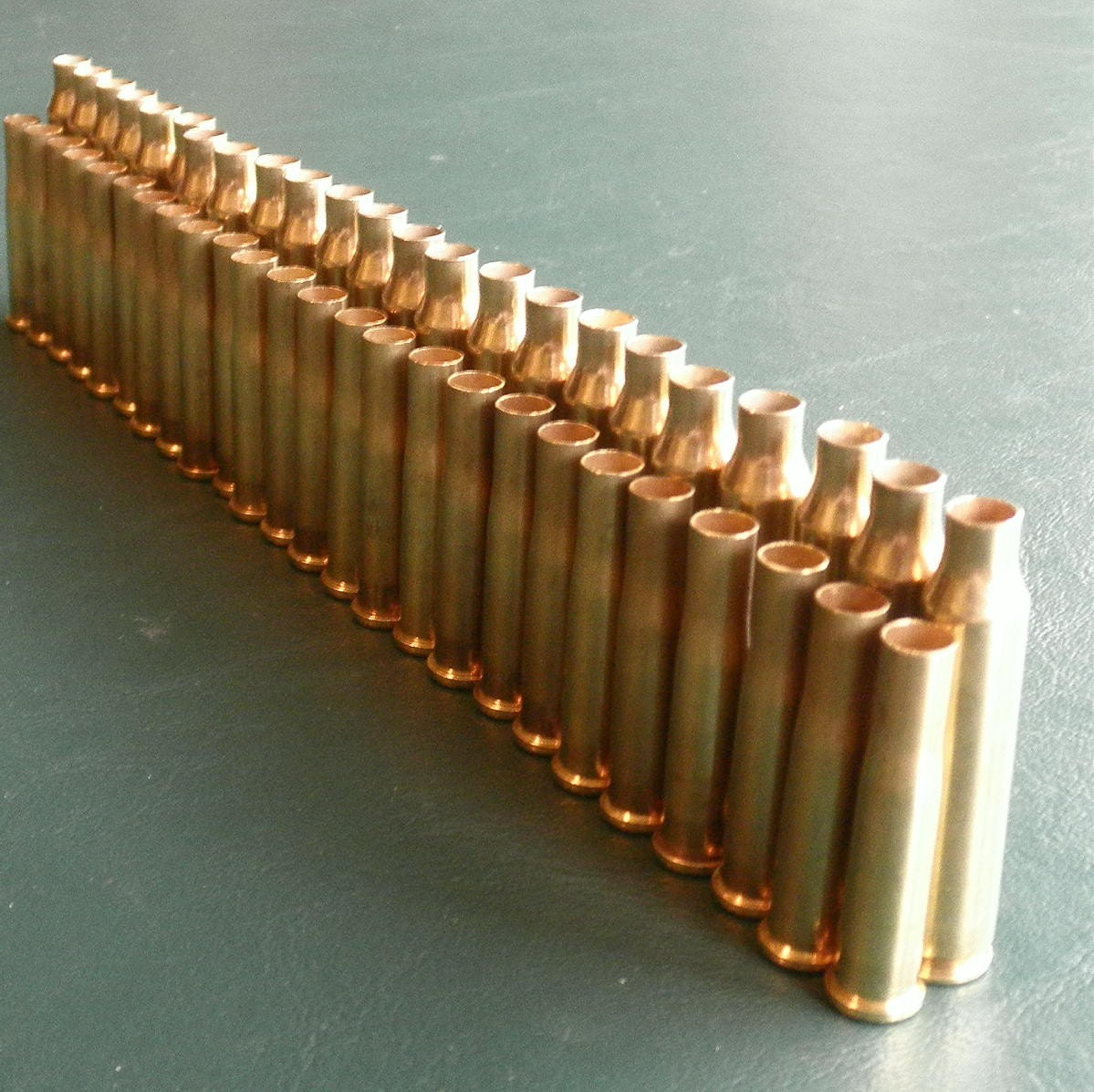 lot of 50 brass shell casings