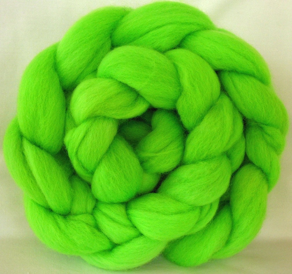 Hand Dyed Australian 54s Wool Roving