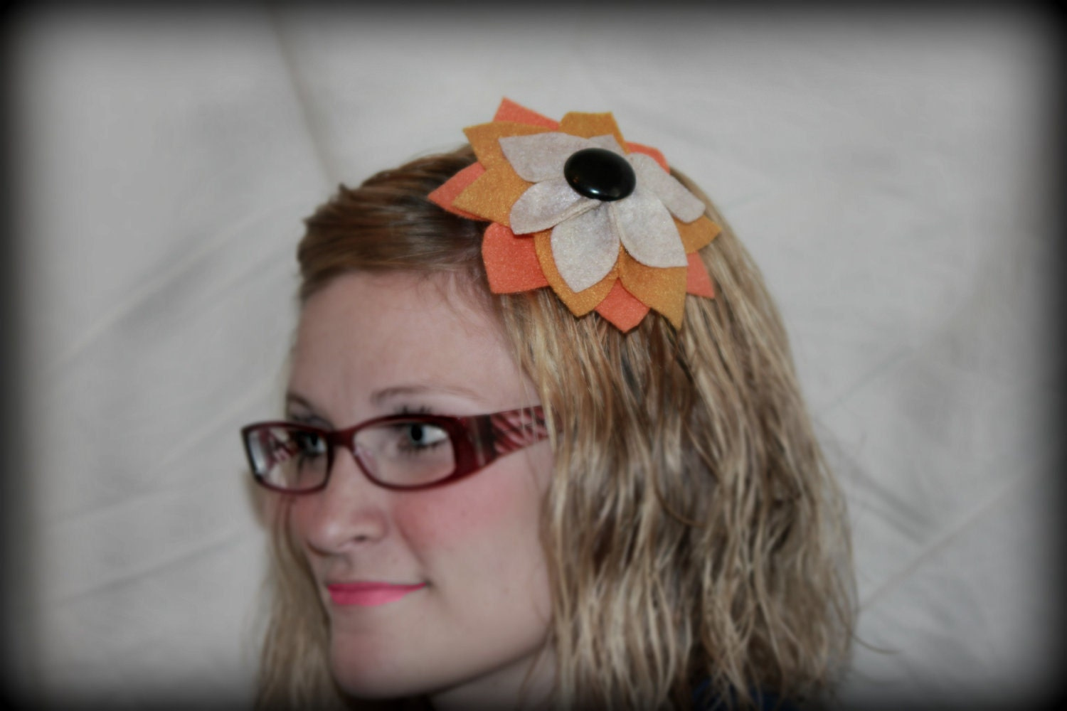 Fall, Thanksgiving Flower Headband, Women, Babies, Toddler, Teen, Great for Thanksgiving, Can also be worn in an updo, Free USA Shipping
