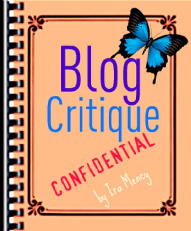 Blog Critique by Ira Mency