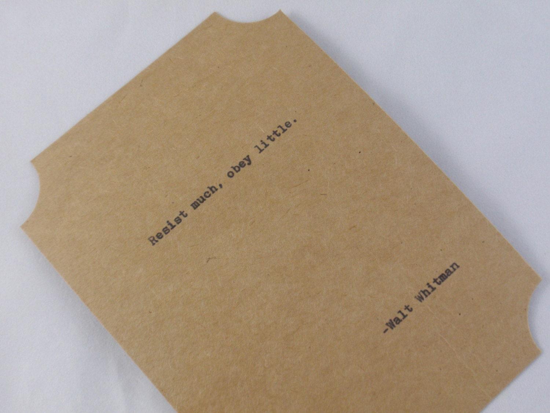 Famous Walt Whitman Quotes Poems