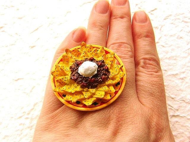 Начо продовольственной кольцо
