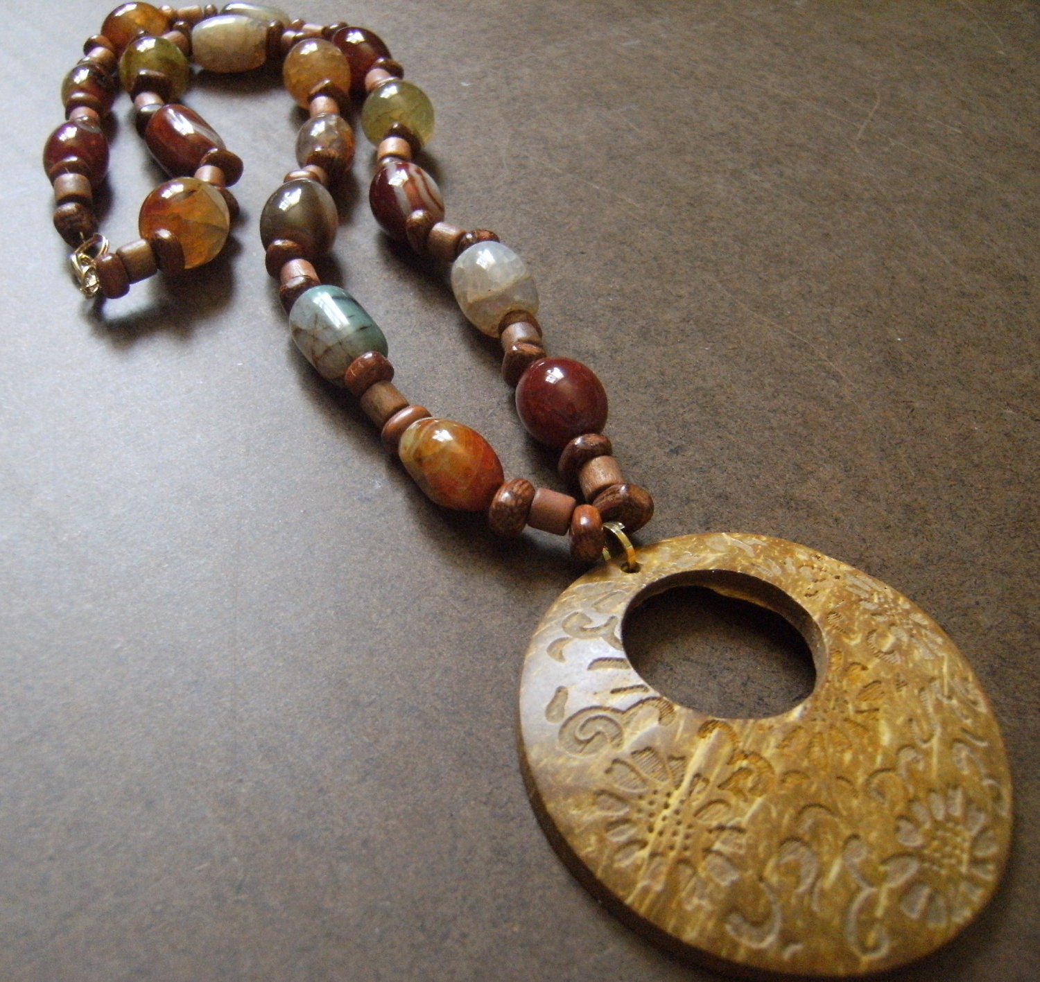 Natural Beauty Beaded necklace