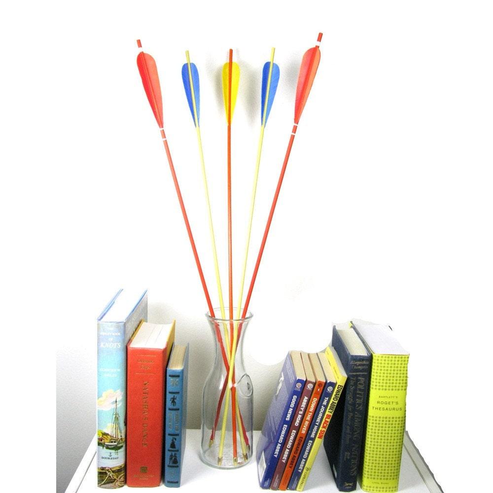 Circus Arrows Colorful Bright Home Decor Nursery by FletcherandFox