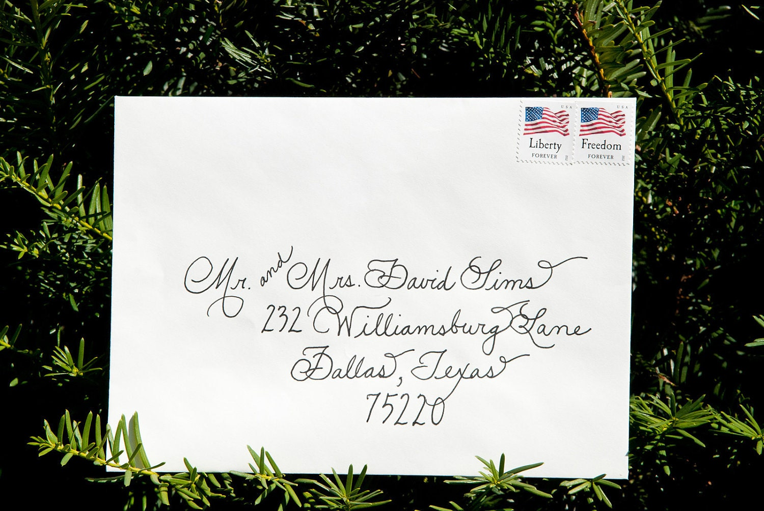 Wedding Calligraphy Envelopes Custom Handwritten - Place Cards, Escort Cards, Custom Invitations Also Available