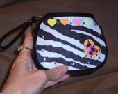 Wallet Coin Purse Animal Prints and Gems