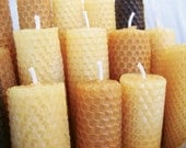 Beeswax Candles- Set of 2 Tapered