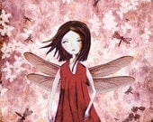Lady Dragonfly  - print