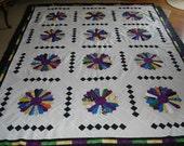 Dresden Plate Quilt Top