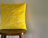 Britta (Yellow) Pillow Cover