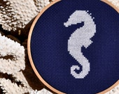 Seahorse Counted Cross Stitch Pattern PDF