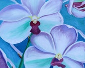 Orchid Rhyncovandas, GREETING CARD