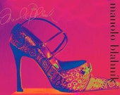 Limited Edition Giclee Print Pop Art  If the Shoe Fits Giclee on Photo Rag Paper