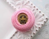 Last One - DMC 605 - Pink - Perle Cotton Ball Thread Size 8