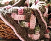 Weaves Baby Blanket Crochet PATTERN