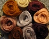 Ashland Bay Expanded BROWNS Merino 64s Collection for Spinners and Felters