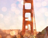 The Golden Gate Bridge - San Francisco - California - 8 x 10 - Digital Fine Art Multi Layer Photo Print - National Historical Monument