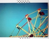 Big Wheel - blank greetings card