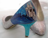 Wedding Shoes Fairy tale wedding Cinderella Glass slipper
