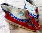 Antique Chinese Shoes for Baby Girl