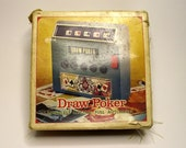 1974 Vintage Draw Poker Electronic Game in Original Box